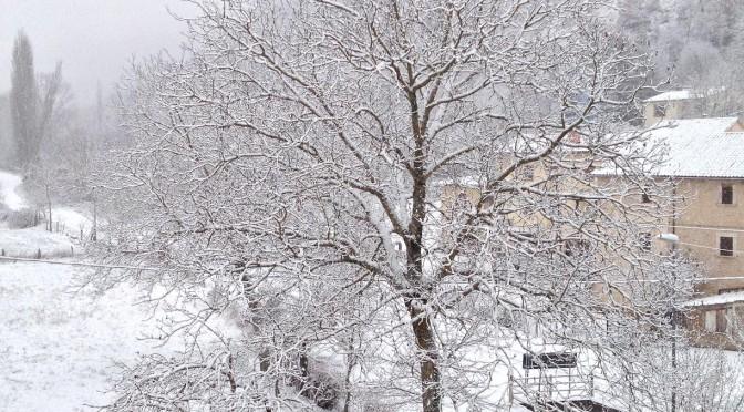 Neve a Molini di Sellano